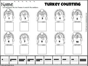 cut-and-paste-1-to-10-turkeys